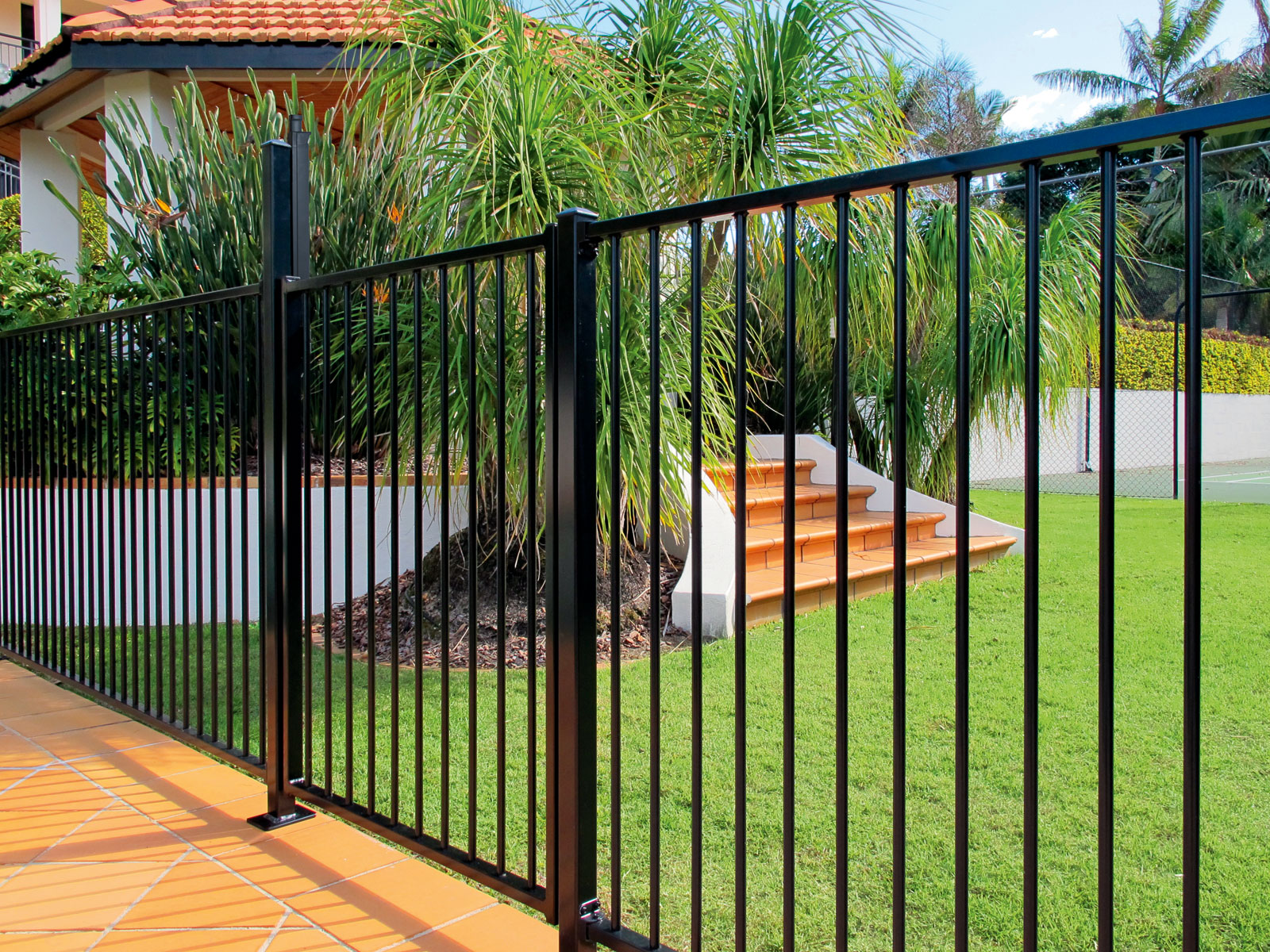 Iron fence for wholesale
