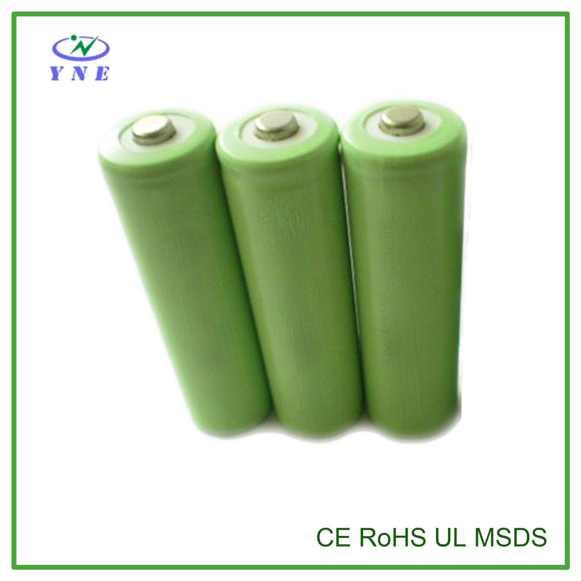 AA 1.2V 1200mah Single Ni-MH Rechargeable Battery