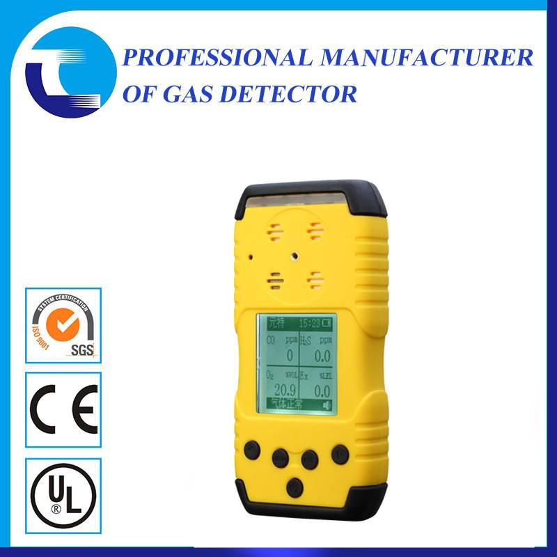 Portable 0-25%VOL range O2 oxygen detector