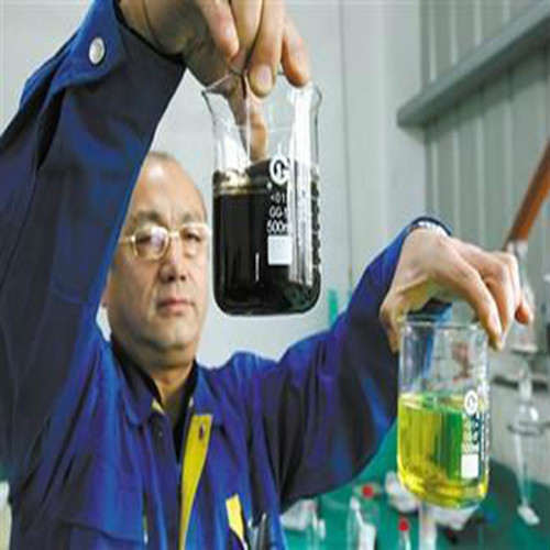 Activated clay bleaching earth for diesel fuel oil recycling