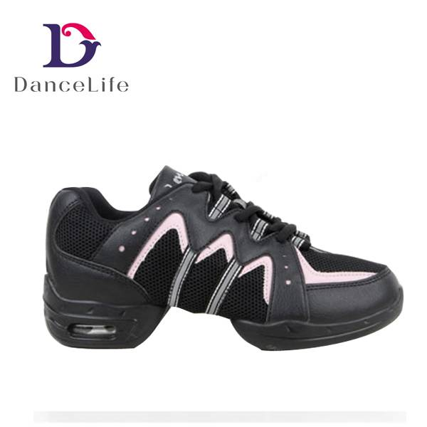 S5424 Hip Hop Dance Shoes Professional Dance Sneaker Shoes, Line Jazz Dance Shoes Sneakers