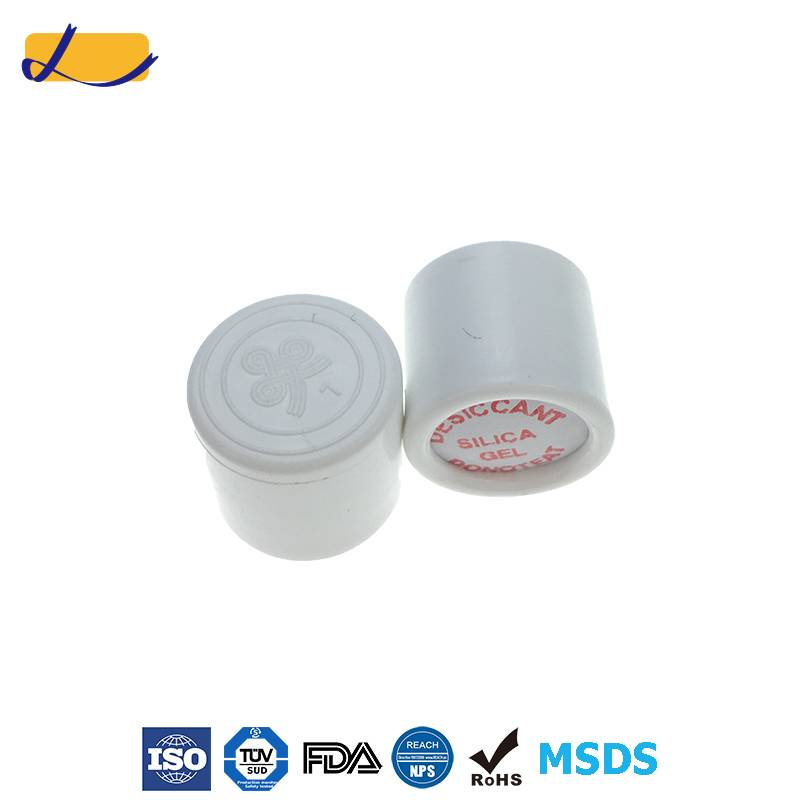 silica gel desiccant canister for pharmaceutical use