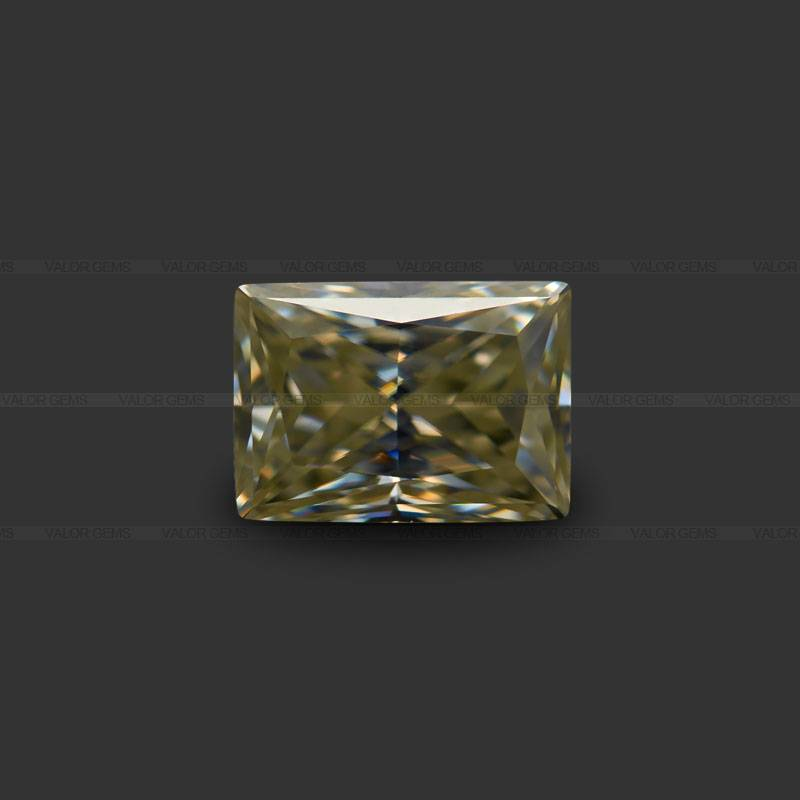 Rectangle(Right Angle) Princess Cut Moissanite