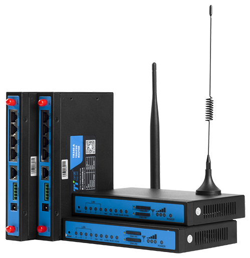 LTE UMTS industrial wireless vpn/openvpn router for plc remote access