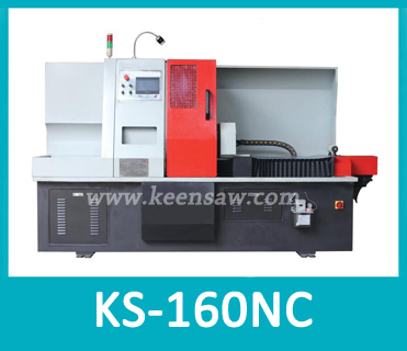 Automatic stainless steel tube rotary cutting machine burr-free cutting KS-160CNC