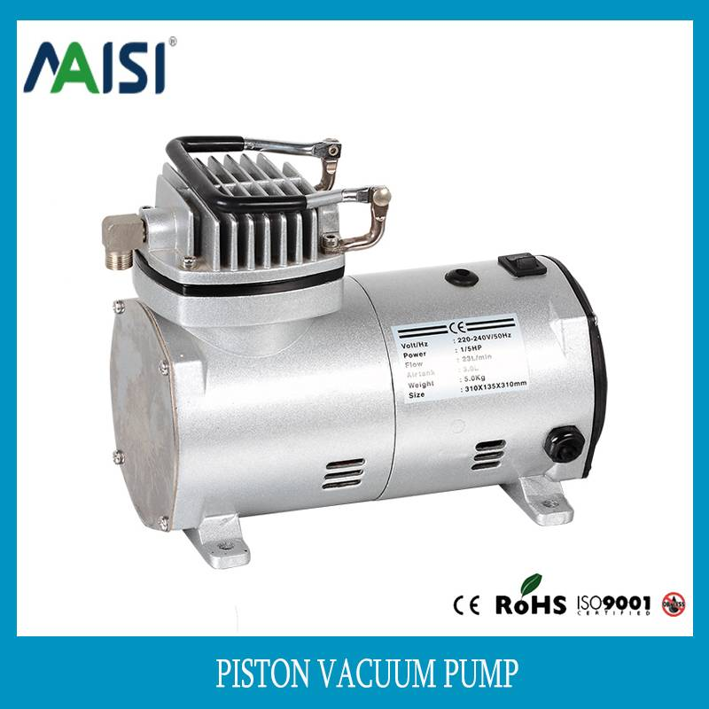 220V ac silent piston air compressor pump 110v