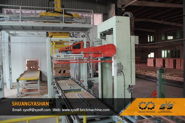 Automatic Brick Unloading and Packing System