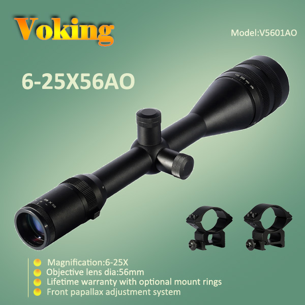 Voking 6-25X56 AO magnifier scope with your own APP