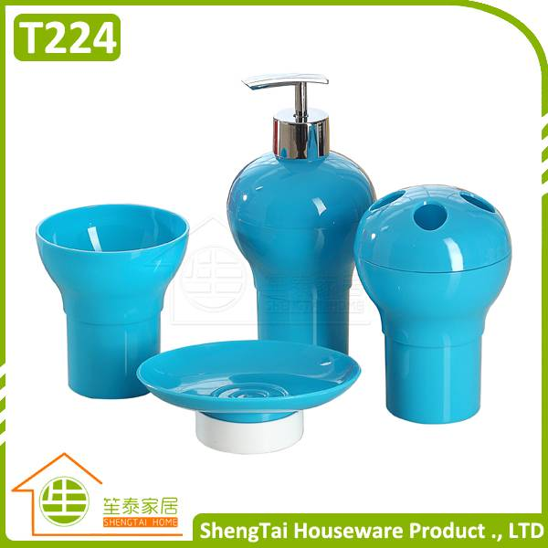 Multi Use Special New Design Bottle Gourd Shape Complete Bathroom Set
