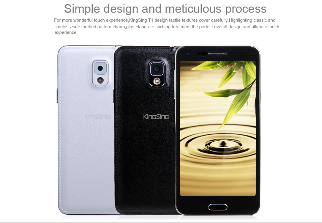 New 5.0inches octa core android smartphone dual sim dual cameras Multi Point touch Capacitive Screen