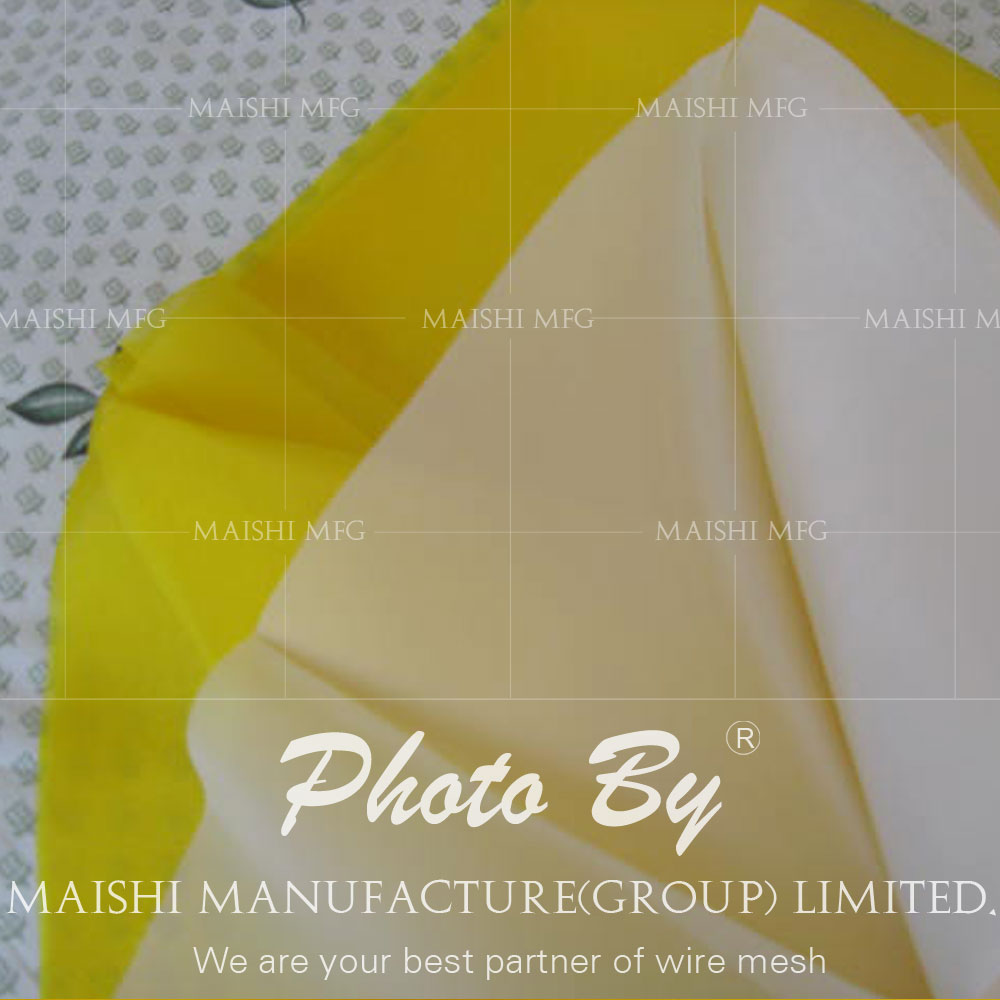 Mesh for silk screen printing