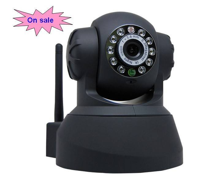 Wifi audio freely control IR Wireless Network IP Camera
