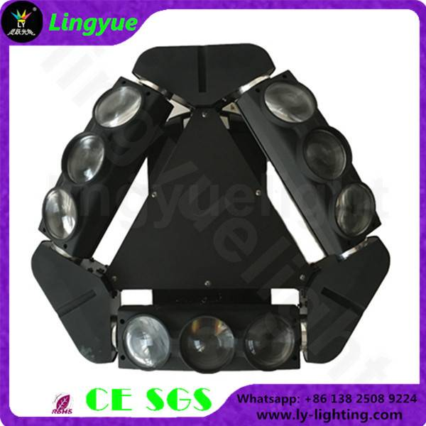 9X12W RGBW 4in1 moving head beam led spider