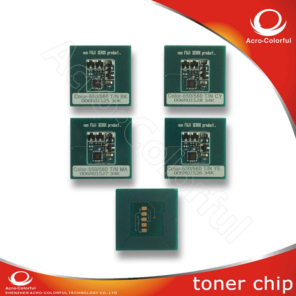 Drum chip for Xerox Color 550 560 570 laser printer reset cartridge chip