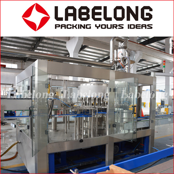 2000BPH Capacity Mineral Water Packing Filling Machine