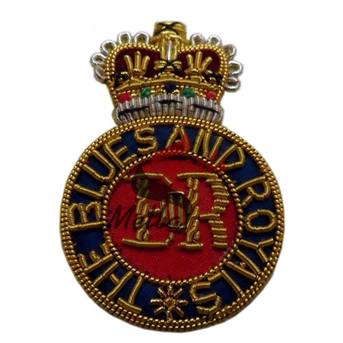 Bullion Embroidered Beret Badge
