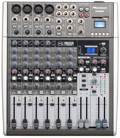 PS-800BX Professional Audio Mixer