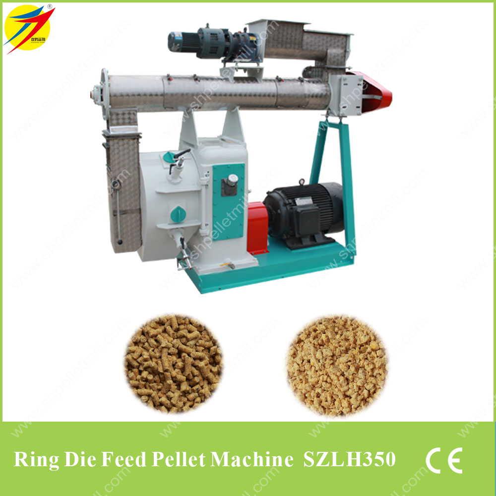 Ring Die Livestock Feed Pellet Machine