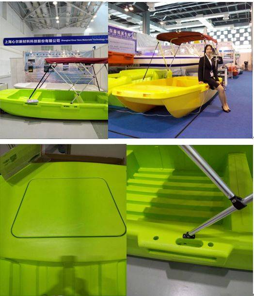 china supply super plastic alloy materials motor yacht