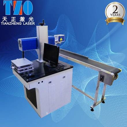 Fiber Laser Engraving Machine with Conveyor