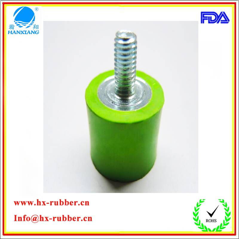 Cylindrical Bumpers Shock Absorbers Rubber Feet