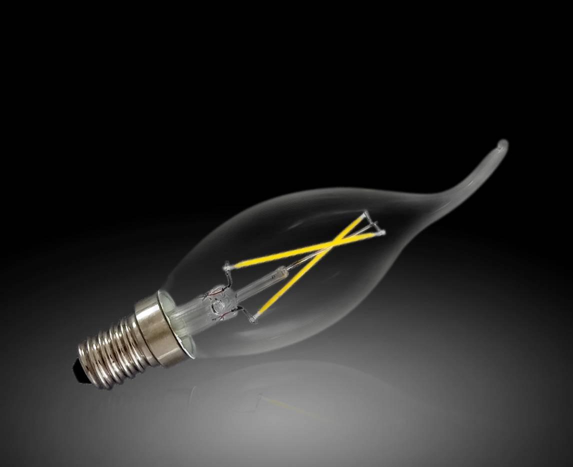 New Style E14 Golbe 2W LED Bulb