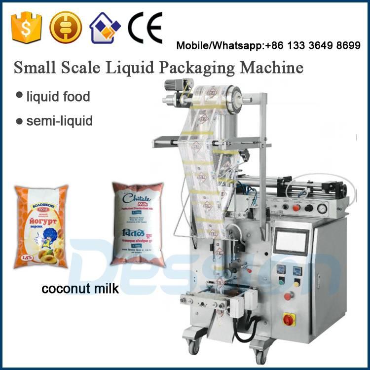 Frozen cream / butter / dairy packing machine