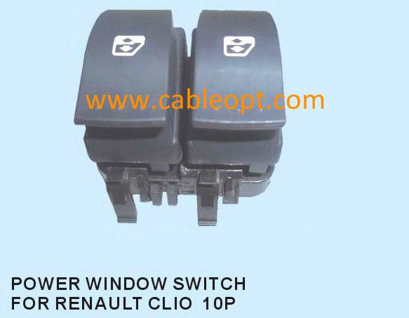Power Window Switch for Renault Clio 10P
