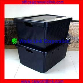 710 Large Size Rectangular Plastic crate