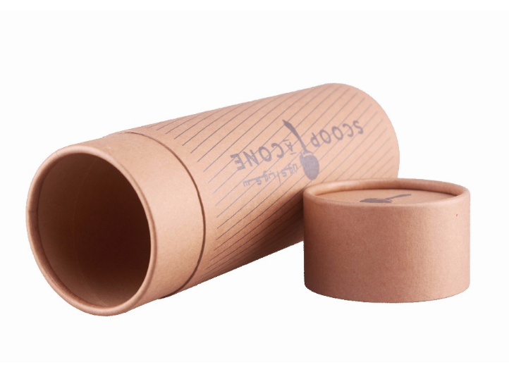 custom kraft paper gift packaging tubes boxes cardboard