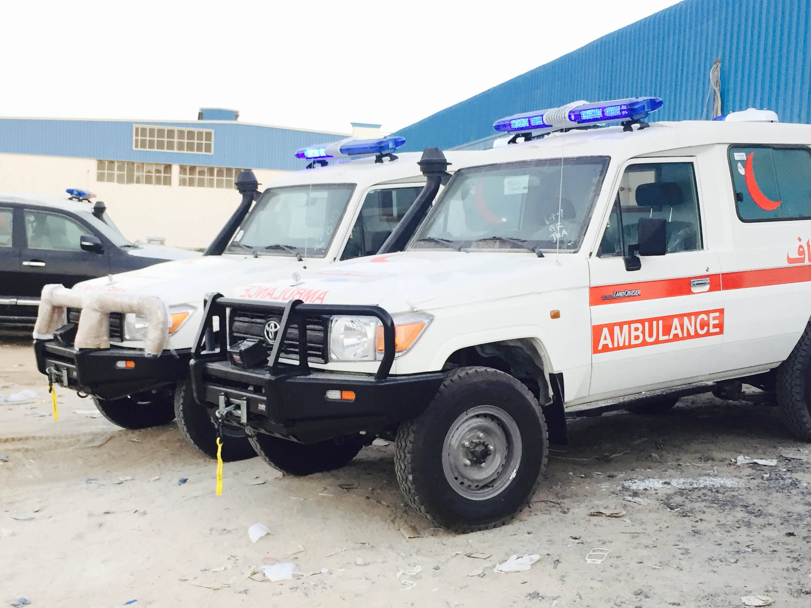 Ambulance 4x4 Toyota Land Cruiser