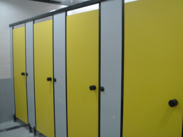 Rich-Lees New Arriving Phenolic Hpl Laminate Panel Water Proof Toilet Cubicle Partition