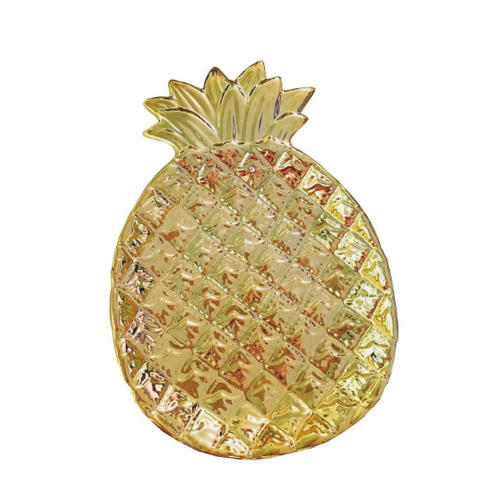 Ceramic Pineapple shaped Jewelry Tray