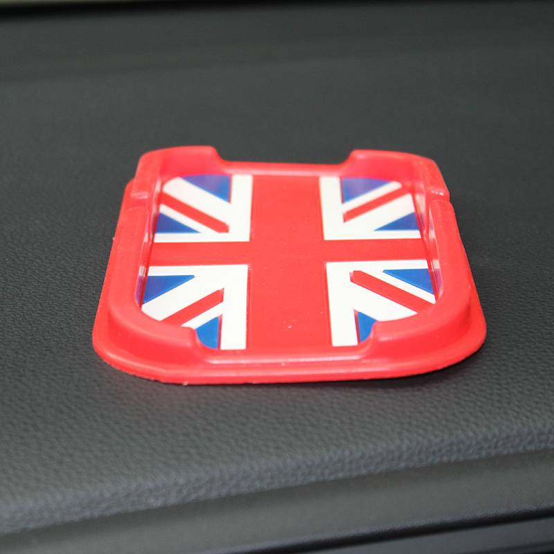 pvc mpbile phone car anti slip mat