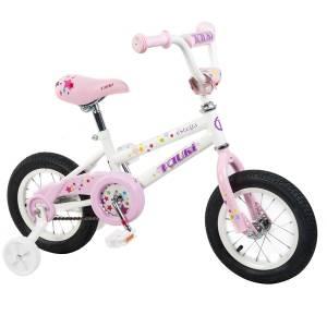 Tauki ESTELLA 12 inch Princess Kid Bike, White