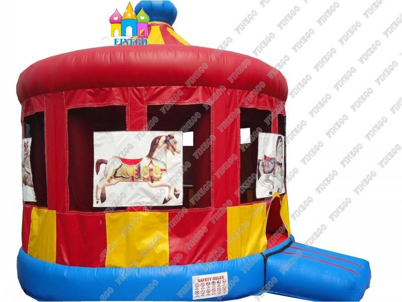 CE Christmas Inflatable Castle for Party