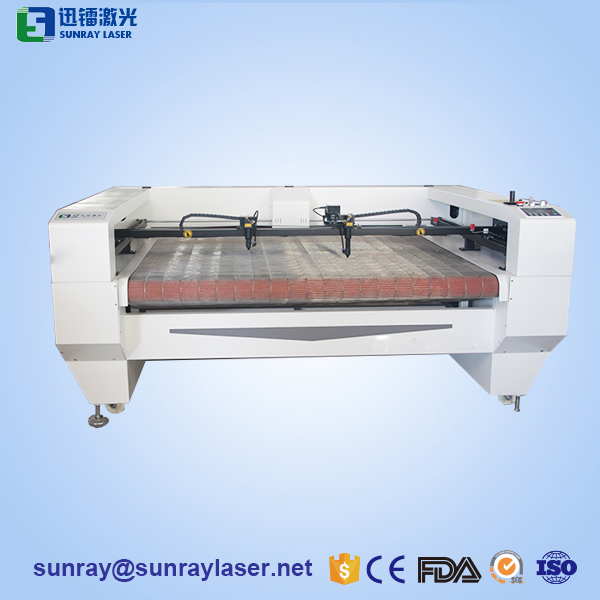 1810 laser automatic fabric cutting machine
