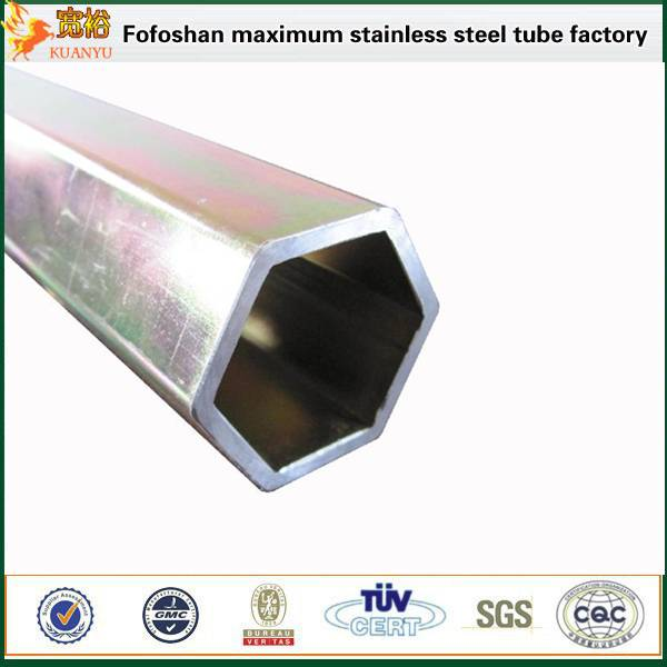 316 polished hexagonal stainless steel weldedtube manufacturers