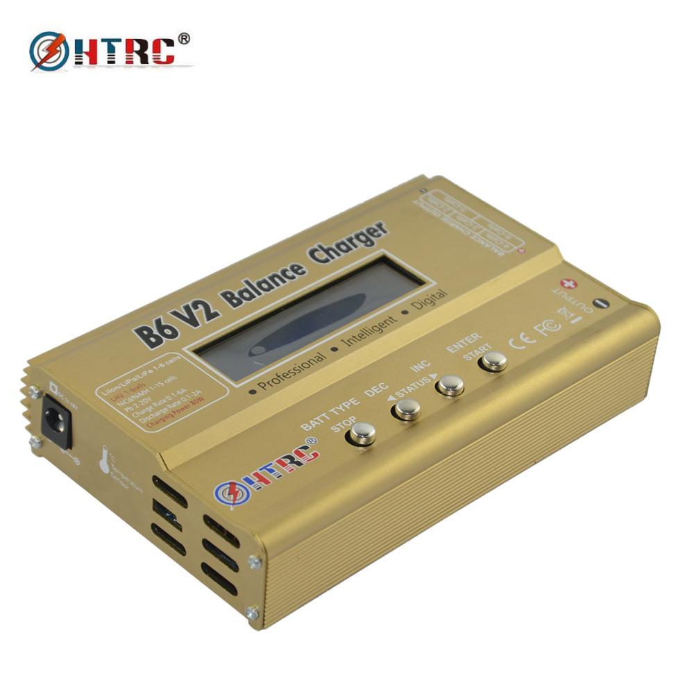 B6V2 80W Battery Balance Charger Discharger for LiHV LiPo LiIon LiFe NiCd NiMH PB Battery