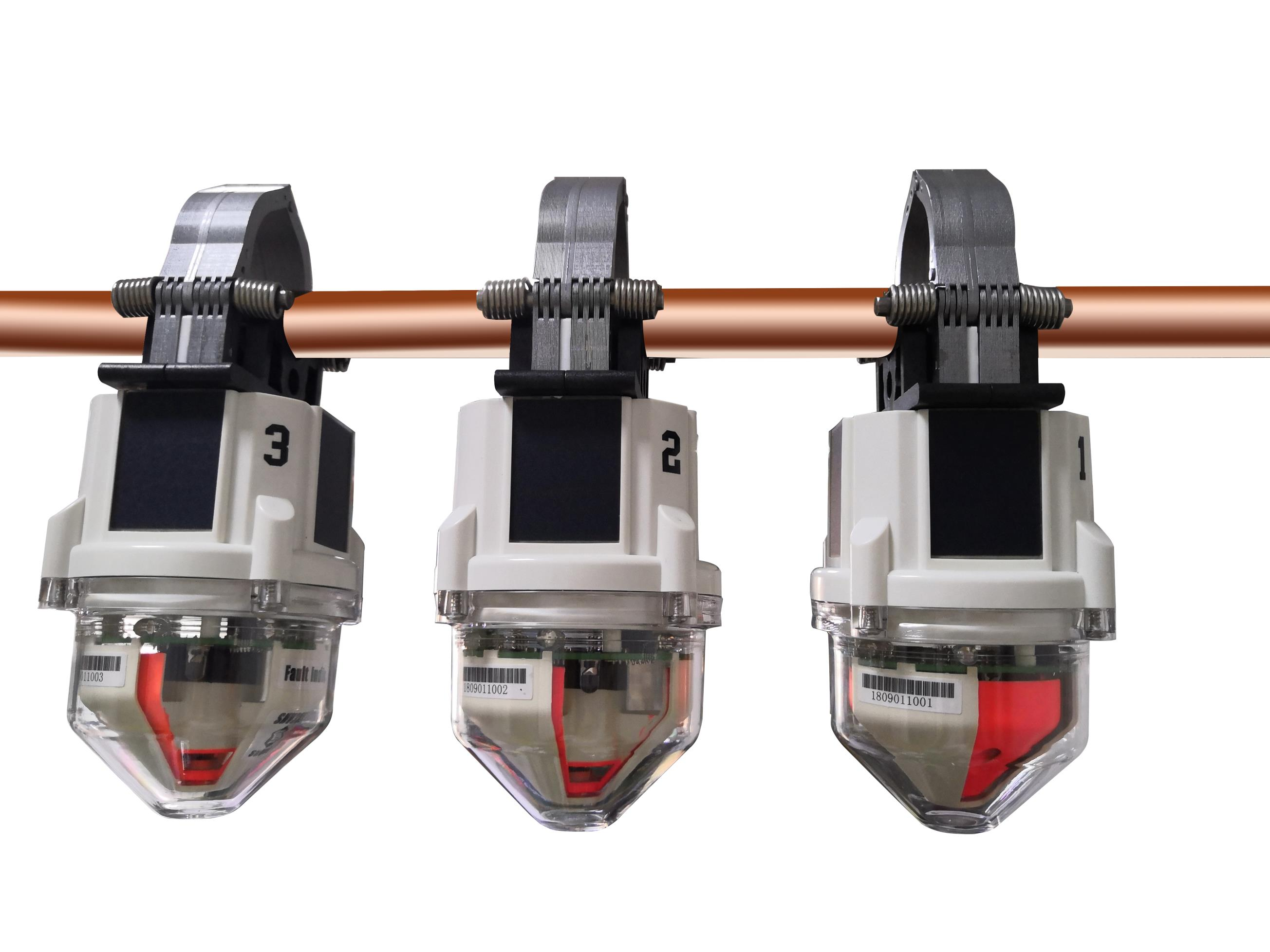 Hot sales of Overhead type earthing and short circuit fault indicator(four remote)