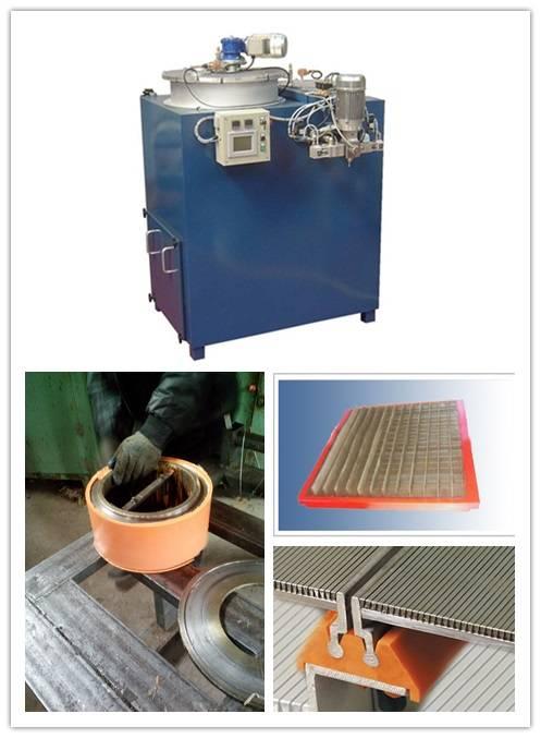PU casting machine