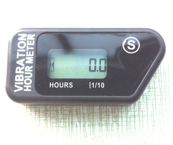 RL-HM016B Resettable Wireless Inductive Vibration Hour Meter Used For Marine,Motorcycle,diesel engin
