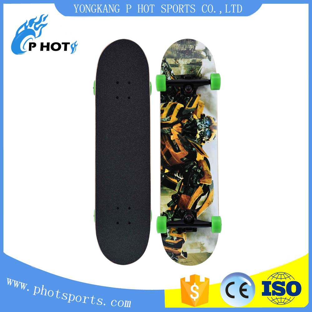 High quality OEM 31 inch skateboard 7 layer Canadian Maple skate board skateboard