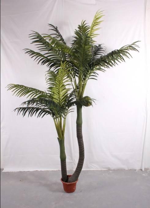 Artificial plants Single pole areca  Areca catechu tree