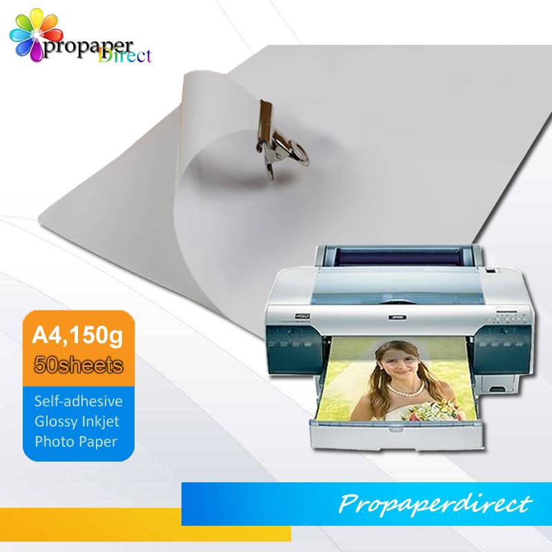150g adhesive photo paper A4