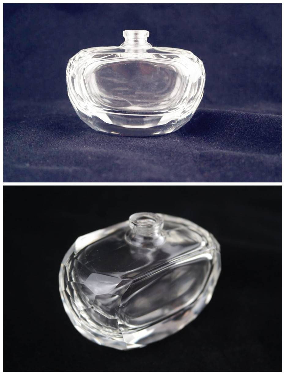 Good-quality glass perfume bottles with eco-friendly material