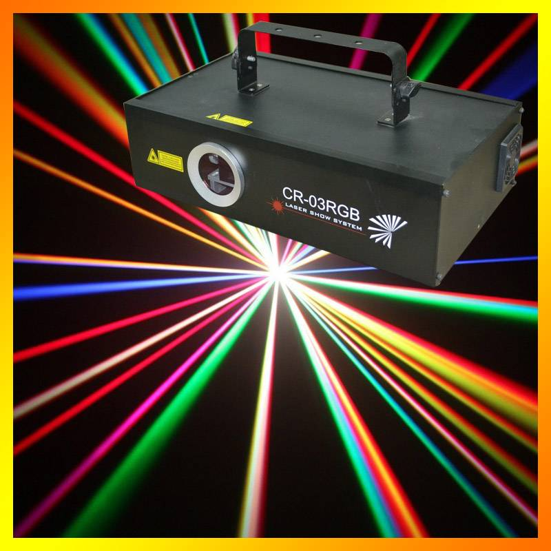 CR-03 RGB animation stage laser light pro stage lighting projector