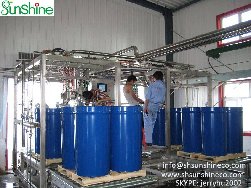 Tube-in-tube sterilizer & aseptic filling machine