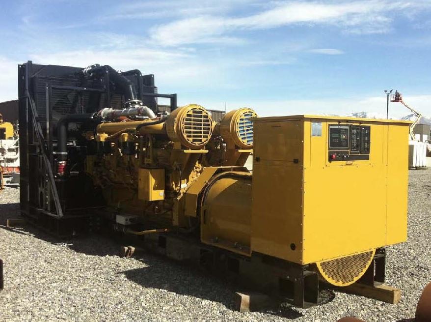 #26406 2250 KW Caterpillar 3516C Generator
