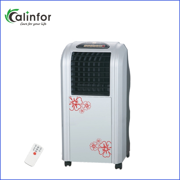 cheap new design floor standing humidity control mini water air cooler fan